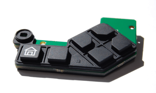 Complex Rubber Keypad Integrated Radio Button Assembly